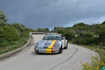 Sordi Ermanno,Biglieri Claudio(Porsche 911 scrs,Team Bassano,#8), CAMPIONATO ITALIANO RALLY AUTO STORICHE