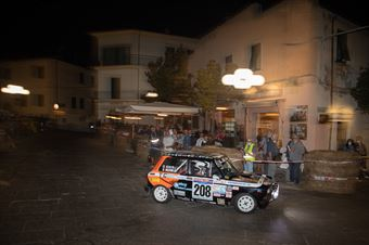 Mearini Francesco,Acciai Massimo(A112 Abarth,Etruria racing,#208), CAMPIONATO ITALIANO RALLY AUTO STORICHE