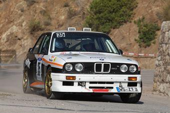 Zuppardi Thomas,Lazzarini Nicolo(Bmw M3,Msc Kitzbuhel,#35), CAMPIONATO ITALIANO RALLY AUTO STORICHE