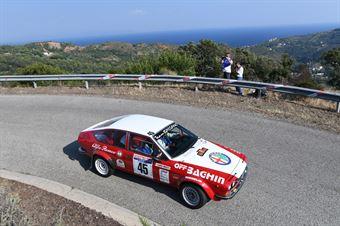 Baghin Gianluigi,Mosti Sara(Alfetta,Team Bassano, #45), CAMPIONATO ITALIANO RALLY AUTO STORICHE
