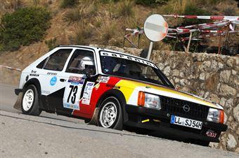 Goeckel Peter,Goeckel Elke(Opel Kadet,Team Bassano,#73), CAMPIONATO ITALIANO RALLY AUTO STORICHE