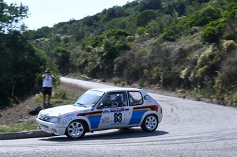 Masini Emanuele,Masini Claudia(Peugeot 205 Rallye,Etruria Racing,#83), CAMPIONATO ITALIANO RALLY AUTO STORICHE