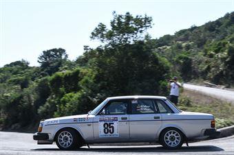 Mayr Siegfried,Mayr Renata(Volvo 244,#85), CAMPIONATO ITALIANO RALLY AUTO STORICHE