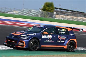 Altoe Alessandro De Matteo Alfredo, Volkswagen Golf GTI TCR #63, Elite Motorsport, TCR DSG ITALY ENDURANCE