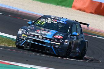 Giorgi Gabriele Barberini Cosimo, Volkswagen Golf GTI TCR #33, NOS Racing, TCR DSG ITALY ENDURANCE