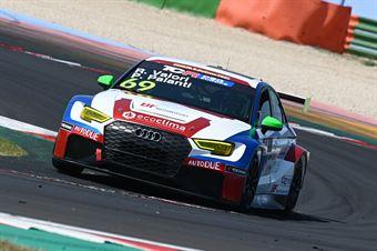 Palanti Paolo Valori Ronnie, Audi RS3 LMS #69, BF Motorsport, TCR DSG ITALY ENDURANCE
