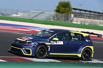 Volpato Gabriele Almeida Rodrigo, Volkswagen Golf GTI TCR #65, Elite Motorsport, TCR DSG ITALY ENDURANCE
