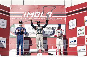 Podium TCR Race2, TCR ITALY TOURING CAR CHAMPIONSHIP