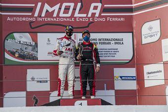 Podium Under25 Race1, TCR ITALY TOURING CAR CHAMPIONSHIP