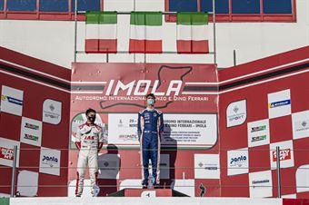 Podium UNDER25 Race2, TCR ITALY TOURING CAR CHAMPIONSHIP
