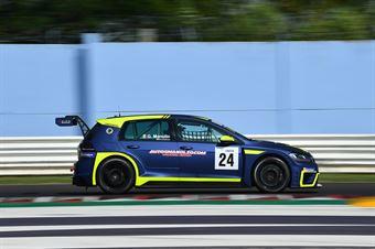 Manolio Gennaro, Volkswagen Golf GTI DSG TCR #24, Elite Motorsport, TCR ITALY TOURING CAR CHAMPIONSHIP