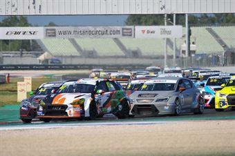Start Gara 1, TCR ITALY TOURING CAR CHAMPIONSHIP