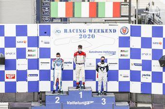 Podio assoluto Gara1, TCR ITALY TOURING CAR CHAMPIONSHIP
