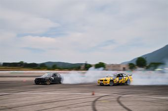 #32 Alberto Festival   BMW Turbo   PRO 2 e #24 Arianna Corallo   BMW E36   PRO 2 , CAMPIONATO ITALIANO DRIFTING