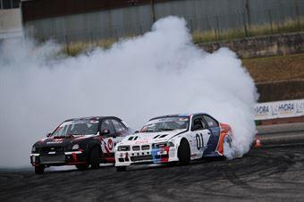 #97 Alberto Cona   BMW M3 Turbo   PRO e #11 Salvatore Pignanelli   Subaru Impreza   PRO, CAMPIONATO ITALIANO DRIFTING
