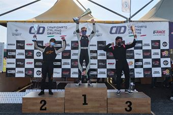 Podio Pro 2 1. Samuele Milani 2. Julien Besson 3. Francesco Giori, CAMPIONATO ITALIANO DRIFTING