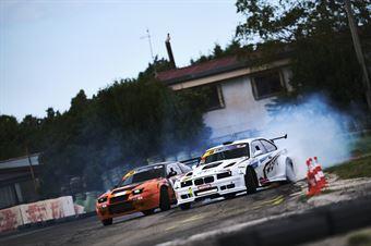 #31 Walter Minardi   BMW M3 V8  Pro 2 e #34 Rocco Lopiano   Nissan S13   Pro 2, CAMPIONATO ITALIANO DRIFTING