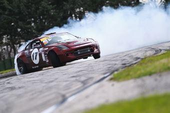 #17 Alberto Meregalli   Nissan 350Z V8   Pro, CAMPIONATO ITALIANO DRIFTING