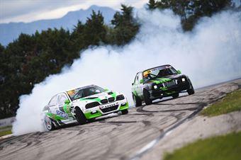 #22 Marco Stellino   BMW M3 2JZ   Pro 2 e #33 Leonardo Costantini   BMW E30 Turbo   Pro 2, CAMPIONATO ITALIANO DRIFTING