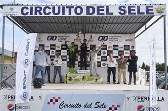 Podio cat PRO 2: 1. Julien Besson 2. Riccardo Tonali 3. Marco Stellino, CAMPIONATO ITALIANO DRIFTING