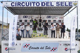 Premiazione classifica finale cat Under 28: 1. Samuele Milani 2. Riccardo Tonali 3. Alberto Festival, CAMPIONATO ITALIANO DRIFTING