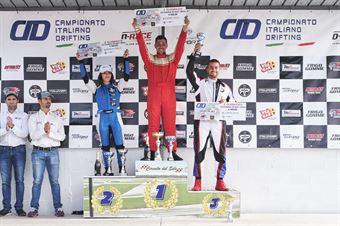 Premiazione classifica finale cat Street Open: 1. Matteo Schierano 2. Mirella Vernacchia 3. Leonardo Costantini, CAMPIONATO ITALIANO DRIFTING