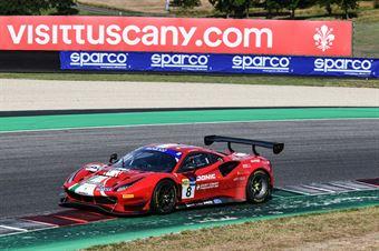 Carrie Schreiner Sean Hudspeth Antonio Fuoco, Ferrari 488 Evo GT3 #8, AF Corse , CAMPIONATO ITALIANO GRAN TURISMO