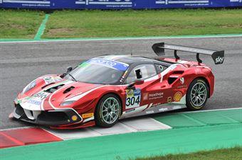 Chistian Brunsborg, Ferrari 488 Challenge Evo GT CUP #304, AF Corse , CAMPIONATO ITALIANO GRAN TURISMO