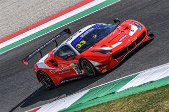 Cuhadaroglu Murat David Fumanelli, Ferrari 488 Evo GT3 #33, Kessel Racing, CAMPIONATO ITALIANO GRAN TURISMO