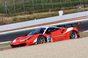 Cuhadaroglu Murat David Fumanelli, Ferrari 488 Evo GT3 #33, Kessel Racing , CAMPIONATO ITALIANO GRAN TURISMO