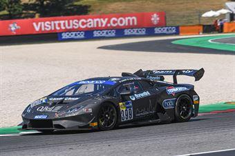 Ermanno Dionisio Alfredo Varini Giacomo Barri, Lamborghini Huracan Supertrofeo #399, Team Italy, CAMPIONATO ITALIANO GRAN TURISMO