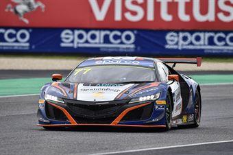 Erwin Zanotti Jorge Cabezas, Honda NSX GT3 AM #77, Nova Race, CAMPIONATO ITALIANO GRAN TURISMO