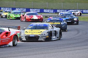 Lorenzo Ferrari Riccardo Agostini, Audi R8 LMS GT3 PRO #12, Audi Sport Italia, CAMPIONATO ITALIANO GRAN TURISMO