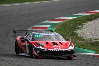 Fons Scheltema, Ferrari 488 Challenge Evo GT CUP #307, KESSEL Motorsport, CAMPIONATO ITALIANO GRAN TURISMO
