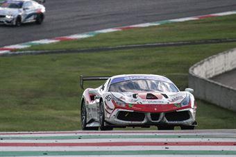 Francesca Linossi VEBSTER Daniel,Ferrari 488 Challenge GT CUP #355, Easy Race, CAMPIONATO ITALIANO GRAN TURISMO