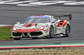 Francesca Linossi Vebster Daniel, Ferrari 488 Challenge GT CUP #355, Easy Race, CAMPIONATO ITALIANO GRAN TURISMO