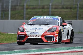Gianluca Carboni Emanuele Romani, Porsche 718 Cayman GT4 PRO AM #252, EBIMOTORS, CAMPIONATO ITALIANO GRAN TURISMO