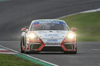 Gianluca Carboni Emanuele Romani, Porsche 718 Cayman GT4 PRO AM #252, EBIMOTORS , CAMPIONATO ITALIANO GRAN TURISMO