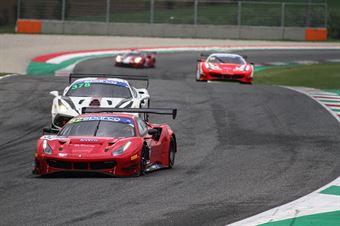 Hugo Delacour Cedric Sbirazzuoli, Ferrari 488 Evo GT3 AM #52, AF Corse, CAMPIONATO ITALIANO GRAN TURISMO