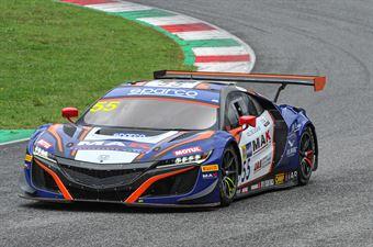 Jacopo Guidetti  Francesco Massimo De Luca, Honda NSX GT3 PRO AM #55, Nova Race, CAMPIONATO ITALIANO GRAN TURISMO