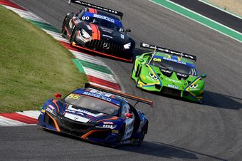 Jacopo Guidetti  Francesco Massimo De Luca, Honda NSX GT3 PRO AM #55, Nova Race , CAMPIONATO ITALIANO GRAN TURISMO