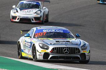 Luca Magnoni Diego di Fabio, Mercedes AMG GT4 AM #207, Nova Race, CAMPIONATO ITALIANO GRAN TURISMO
