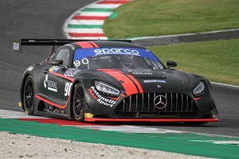 Luca Segu Baruch Bar, Mercedes AMG GT3 PRO AM #90, AKM Motorsport , CAMPIONATO ITALIANO GRAN TURISMO