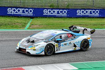 Luciano Privitello Donovan Privitello, Lamborghini Huracan Supertrofeo #377, FFF Racing Team, CAMPIONATO ITALIANO GRAN TURISMO