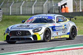Luca Magnoni Diego di Fabio, Mercedes AMG GT4 AM #207, Nova Race , CAMPIONATO ITALIANO GRAN TURISMO
