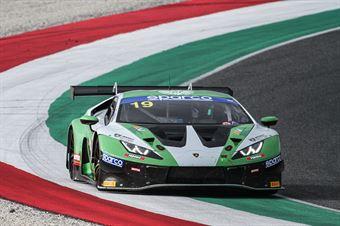 Matteo Llarena Stuart Middleton, Lamborghini Huracan GT3 PRO AM #19, Imperiale Racing, CAMPIONATO ITALIANO GRAN TURISMO