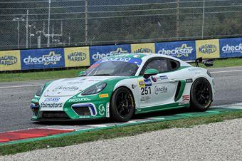Mattia Di Giusto Riccardo Pera, Porsche 718 Cayman GT4 PRO AM #251, CAMPIONATO ITALIANO GRAN TURISMO