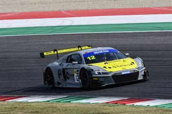 Mattia Drudi  Lorenzo Ferrari Riccardo Agostini, Audi R8 LMS #12, Audi Sport Italia , CAMPIONATO ITALIANO GRAN TURISMO