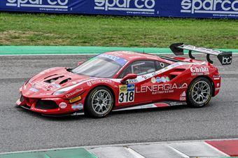 Maurizio Pitorri Gianluigi Simonelli, Ferrari 488 Challenge GT CUP #318, Best Lap, CAMPIONATO ITALIANO GRAN TURISMO