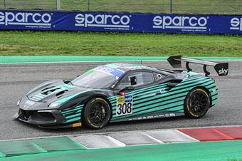 Nicolo Rosi Andrea Fausti, Ferrari 488 Challenge Evo GT CUP #308, KESSEL Motorsport, CAMPIONATO ITALIANO GRAN TURISMO